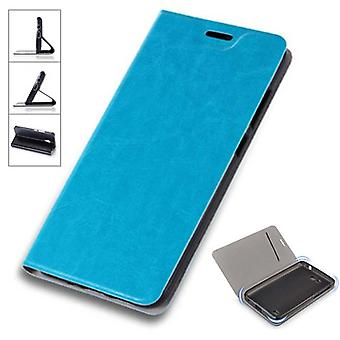 Flip / smart cover blue for Sony Xperia XZ2 protective case cover pouch bag case new case