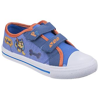 Leomil Paw Patrol Childrens/Kids Chase Touch Fastening Canvas Shoes