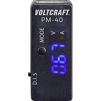 Adaptateur USB numérique VOLTCRAFT PM-40 CAT j'ai affichage (comtes): 999