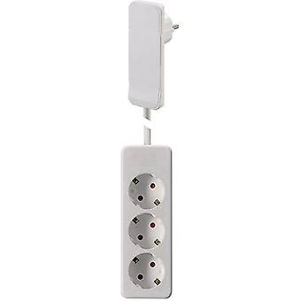 NVB 104566 Socket strip (w/o switch) White CEE plug 1 pc(s)