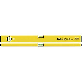 BMI Ecoline 689060PGELB-ECO Alu spirit level 60 cm 1 mm/m