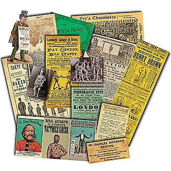 Viktorianische Unterhaltung nostalgische Erinnerungsstücke Pack
