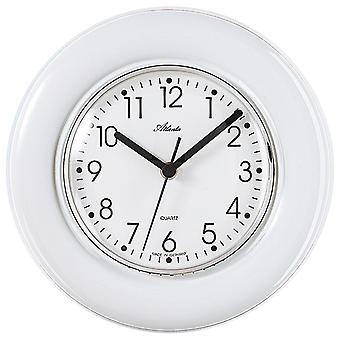 Atlanta 699 kuchnia zegar ściana w biały kwarc kuchnia zegar analogowy zegarek ceramiczne ceramiczne