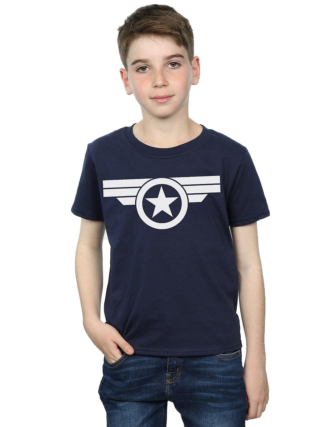 Marvel Boys Captain America Super Soldier T-Shirt