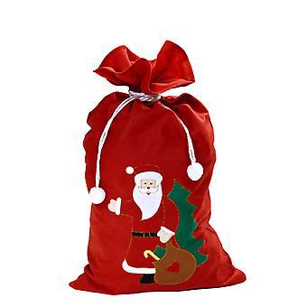 Santa Claus Sack 60cm X100cm dekoriert