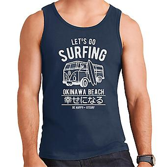 Lets Go Surfing Men's Vest