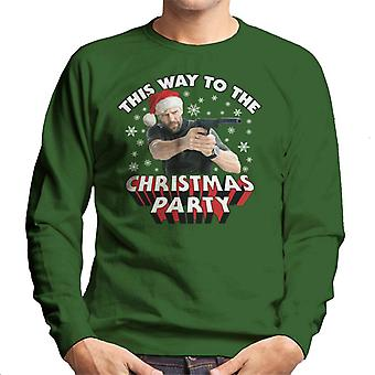 Jason Statham Hierlangs naar Kerstmis partij mannen Sweatshirt