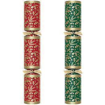 "Swantex Winterberry Christmas Crackers 12"""