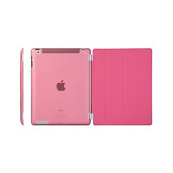 Pokrywę, iPad (2017) / iPad powietrza + powłoka twardego plastiku Hot Pink