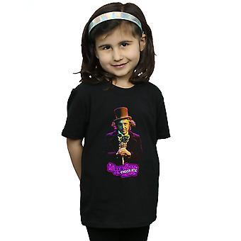 Willy Wonka And The Chocolate Factory Girls Dark Pose T-Shirt