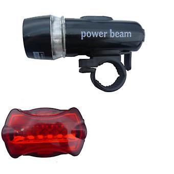 Waterdichte LED fietsverlichting voor en achter