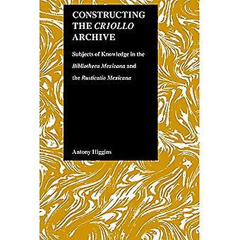 Bouw van de Criollo archief: onderwerpen van kennis in de Bibliotheca Mexicana en de Rusticatio Mexicana