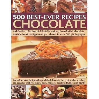500 beste ooit recepten: chocolade