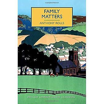 Affaires familiales (British Library Crime Classics)