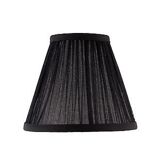Kemp seis pulgadas negro Organza cortina - interiores 1900 CA1BSHN