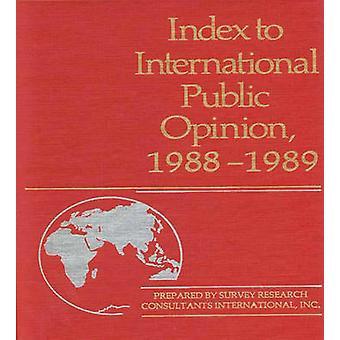 国際世論ヘイスティングス ・ エリザベス ・ ハンによって 19881989 にインデックス