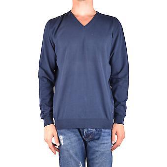 Dondup Ezbc051091 Men's Blue Cotton Sweater