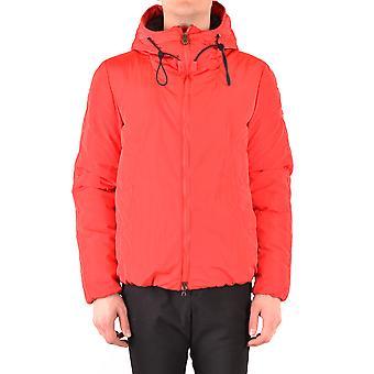 Peuterey Ezbc017121 Men's Red Nylon Outerwear Jacket