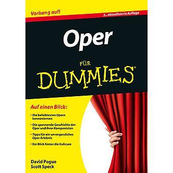 Oper Fur Dummies by David Pogue - Scott Speck - 9783527713356 Book