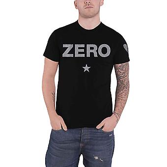 Smashing Pumpkins T Shirt Zero Classic Band Logo new Official Mens Black