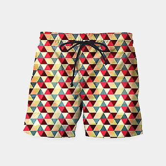 Triangle motif _ nager shorts