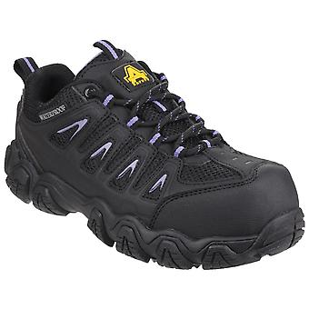 Amblers Safety Womens AS708 Waterproof Non-Metal Ladies Safety Trainer