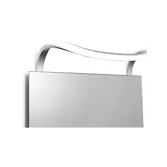 Mantra Sisley vägglampa 12W LED krom IP44 3000K, 840lm, silver/frostat akryl/polerad krom, 3yrs garanti