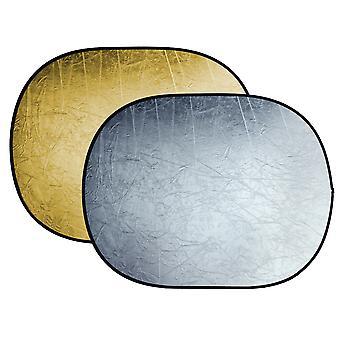 BRESSER BR-TR5 reflector plegable oro / plata 150x200cm