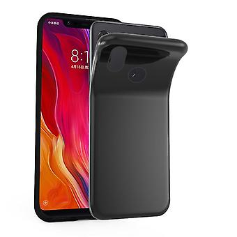 Caso cadorabo para Xiaomi Mi 8 Case capa-telefone móvel caso feito de silicone flexível TPU-silicone caso protetor caso ultra slim Soft tampa traseira caso pára-choques