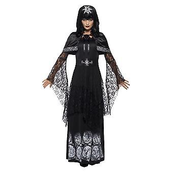 Costume da donna Black Magic Mistress Halloween Fancy Dress