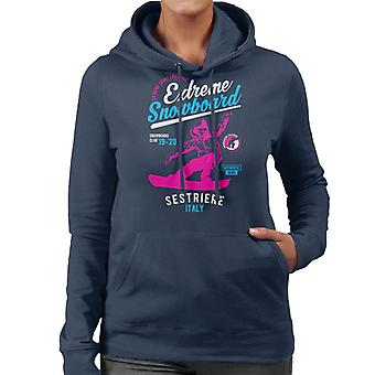 Extreme Snowboard '19 '20 Sestriere France Women's Hooded Sweatshirt
