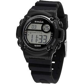 SINAR Youth Watch Wristwatch Digital Quartz Unisex Silicone Strap XE-67-1