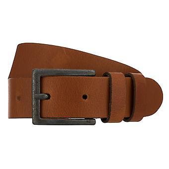 Teal Belt Men's Belt Leather Belt Jeans Belt Cognac 8264