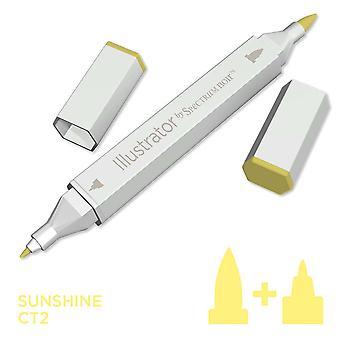 Illustrator door spectrum Noir één pen-Sunshine