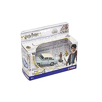 Corgi CC99725 Harry Potter Mr Wesley's Enchanted Ford Anglia with Harry and Ron Figures