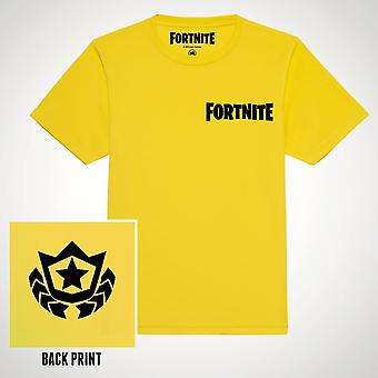 Fortnite-Battle Star T-Shirt Yello T-Shirt