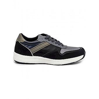 Duca di Morrone - Schuhe - Sneakers - DEREK_BLACK-GREEN - Herren - black,tan - 41