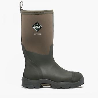 Muck Boots Derwent Ii Unisex Rubber Wellington Boots Moss