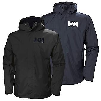 Helly Hansen Mens 2020 Active 2 Hooded Waterproof Lightweight Jacket