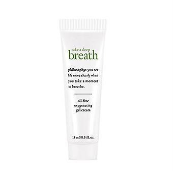 Philosophy Take A Deep Breath Oil-Free Oxygenating Gel Cream 0.5oz / 15ml