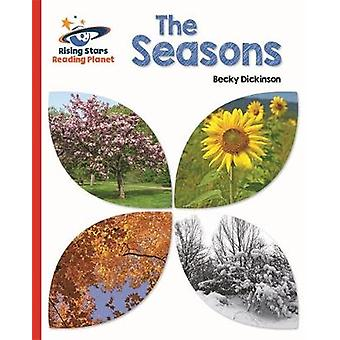 Reading Planet  The Seasons  Red B Galaxy by Becky Dickinson