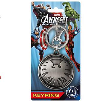 Avengers Eagle Pewter Keychain from The Avengers