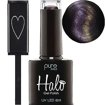 Halo Gel Nails Book Of Shadows 2019 LED/UV Gel Polish Collection - Luna & Magnet 8ml (N2745)