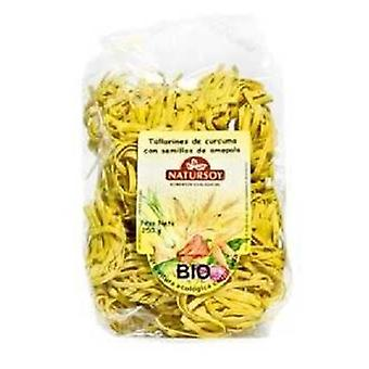 Natursoy Turmeric noodle and poppy seeds 250 g