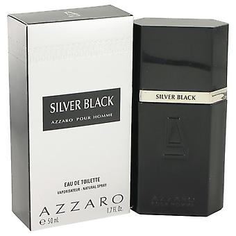 Silver Black Eau De Toilette Spray By Azzaro   421297 50 ml