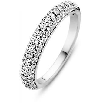 Ti Sento Ring 12105ZI - Silver Ring Ring Pav Zirconium Women