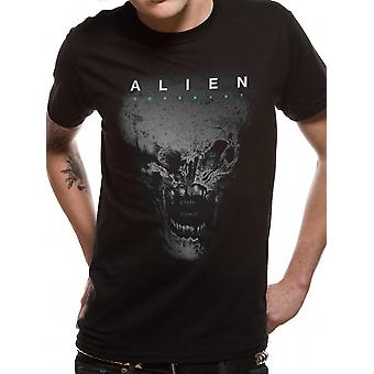 Alien Covenant Ridley Scott Xenomorph Skull Oficjalna koszulka