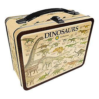 Smithsonian - dinosaurs tin carry all fun box