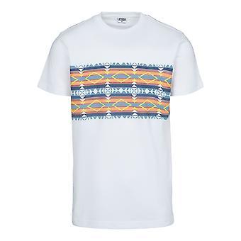 Urban Classics Men's T-Shirt Inca Pattern