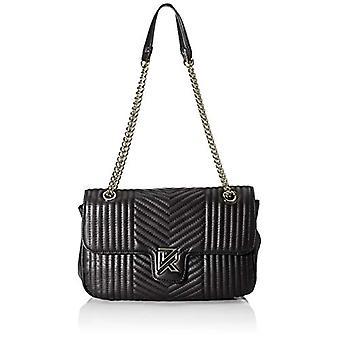 Kaporal Yedou - Black (Black) 27cm shoulder bag (Black) 10.5x18x27cm (W x H x L)